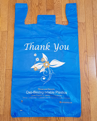 Extra-Large, Blue, Oxo Biodegradable Plastic Bags