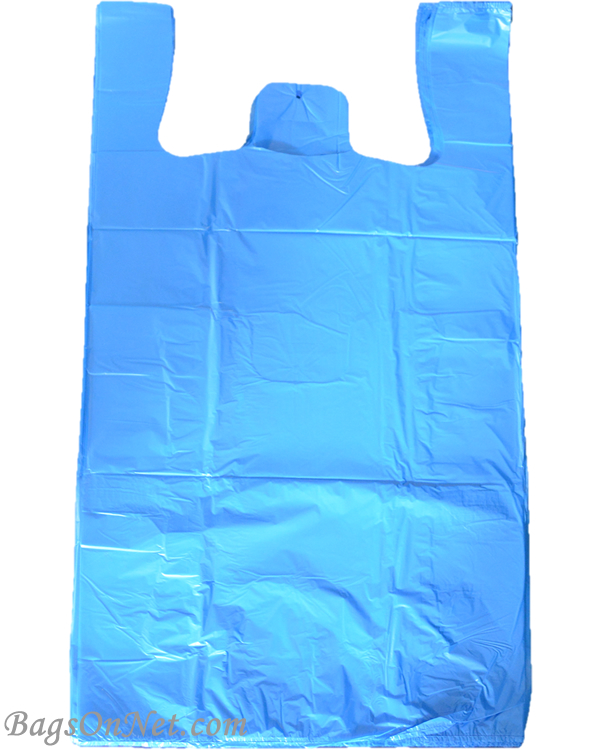 Extra Large Blue Plastic Shopping Bags 50np18bl45