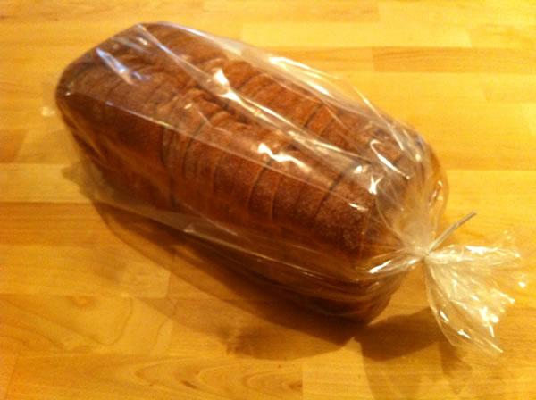 Bread And Bakery Clear Plastic Bags 5x4x15 Inch Size