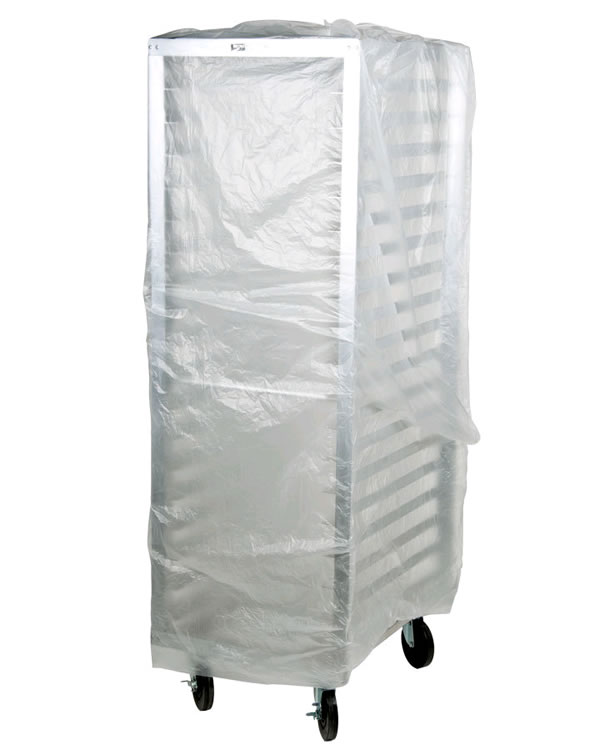 Bun Rack Covers On Roll 60x80 Inch Clear Plastic Bagsonnet