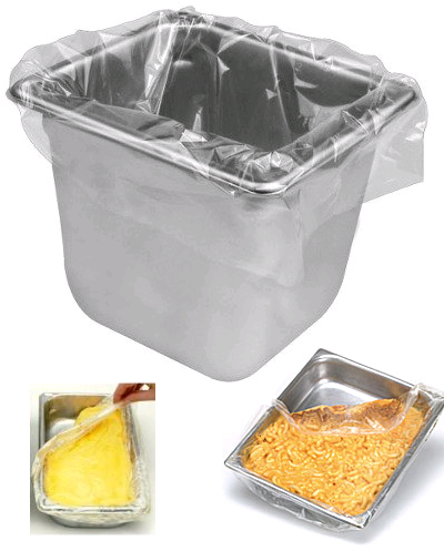 Steam Table Sixth Size Pan Disposable Liners Bagsonnet Link View