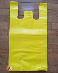 "Large, Yellow, 12""W x 6""D x 22""H, Shopping Bags"